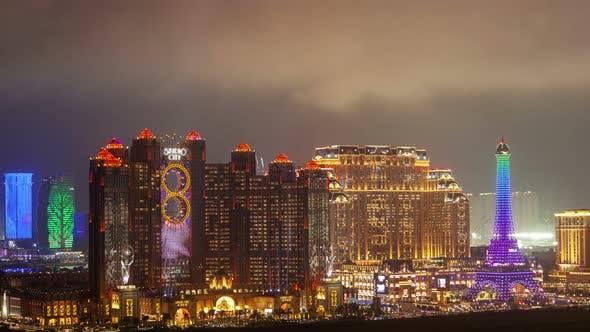 Thumbnail for Macau Cotai Aerial Cityscape