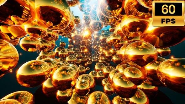 Thumbnail for Golden Vj Tunnel  60fps