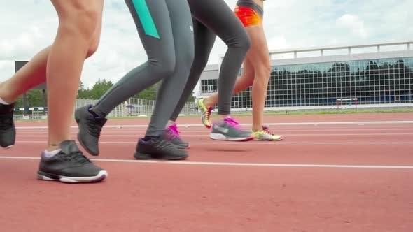 Thumbnail for Running on Track