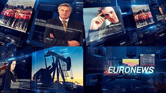Download 54 Breaking News Editable Video Templates - Envato