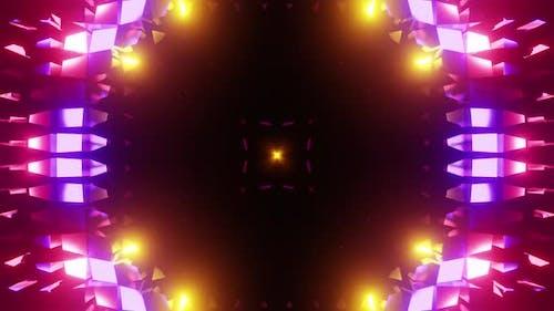 Neon Music Splash Vj Loop HD