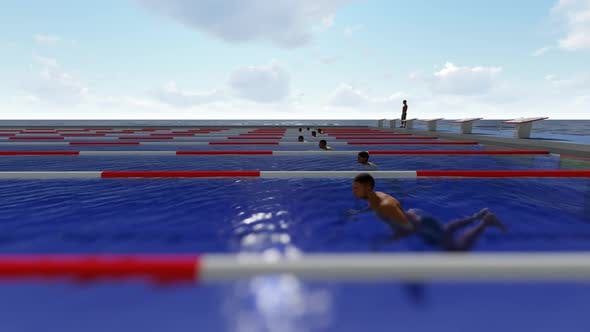 Thumbnail for Olympisches Schwimmbad