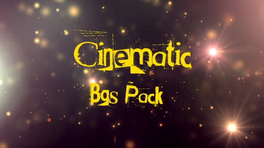 Thumbnail for Cinematic Backgrounds 10 Pack