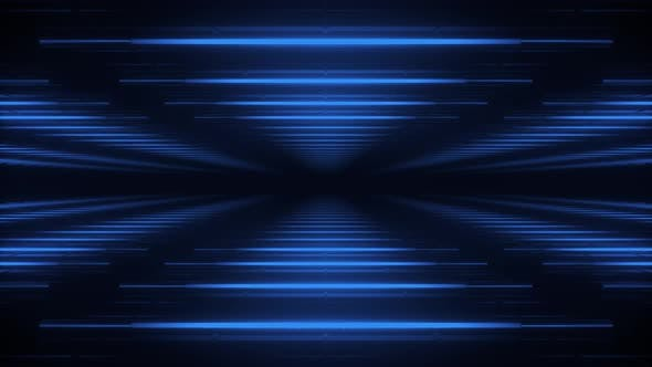 Thumbnail for Abstract blue futuristic background