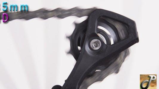 Thumbnail for Rear Derailleur On a Bike In Motion