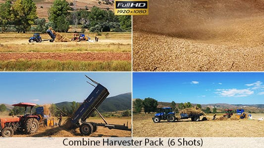 Cover Image for Combine Harvester