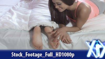 Tickling Her Boyfriend