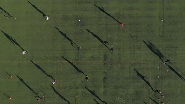 Training Football Teenagers