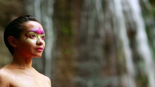 Thumbnail for Borneo Tribal Culture: Face Painting 19