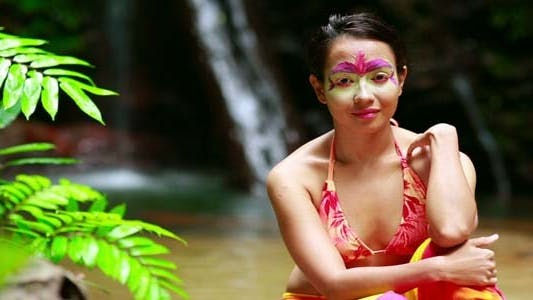 Thumbnail for Borneo Tribal Culture: Face Painting 5