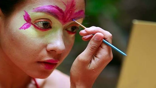 Thumbnail for Borneo Tribal Culture: Face Painting 3