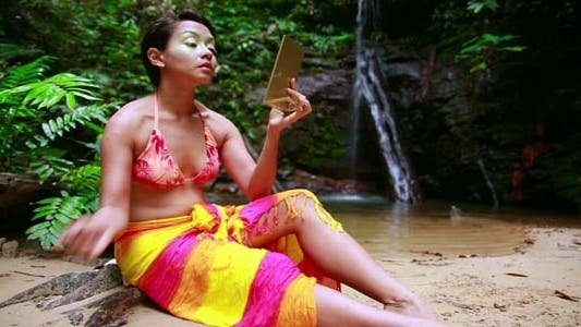 Thumbnail for Borneo Tribal Culture: Face Painting 2