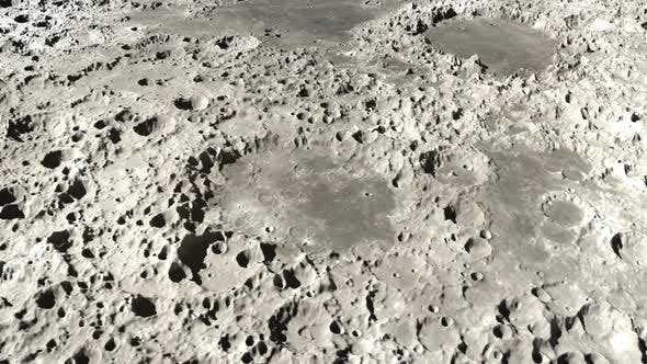 Thumbnail for Moon Craters Landscape Environment Timelapse