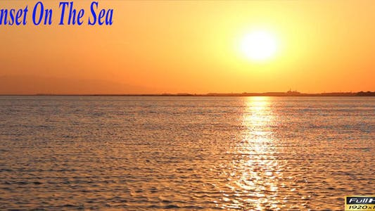 Thumbnail for Sunset On The Sea