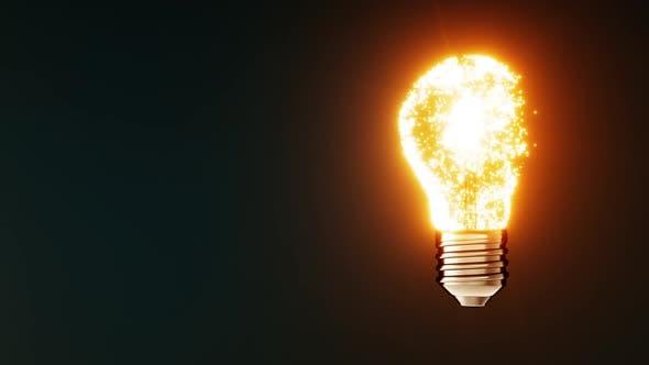 Thumbnail for Magic Idea Glowing Creative Light Bulb
