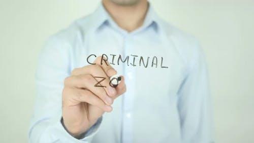 Kriminelle Zone, Schreiben auf dem Bildschirm