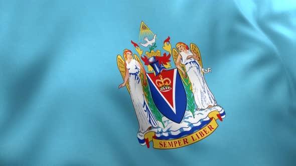 Victoria City Flag (Canada) - 4K