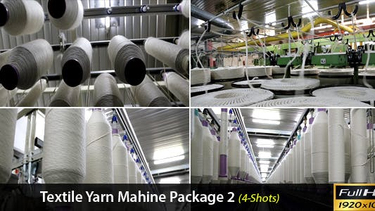 Thumbnail for Textile Yarn Machine Package 2