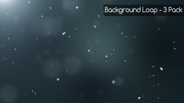 Thumbnail for Dark Snow Background (3 Pack)