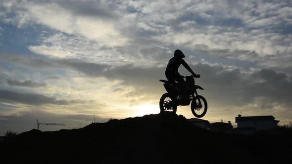 Thumbnail for Motocross at Sunset