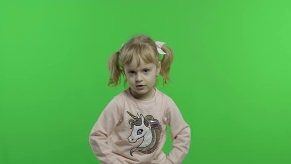 Thumbnail for Girl in Unicorn Sweatshirt Dance and Sing