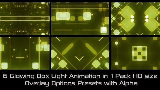 Thumbnail for Glowing Box Lights Pack
