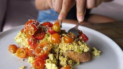 Vegan Breakfast Concept