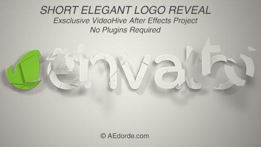 Thumbnail for Short Elegant Logo Reveal