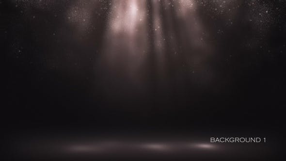Volumetric Light Rays Backgrounds With Dust