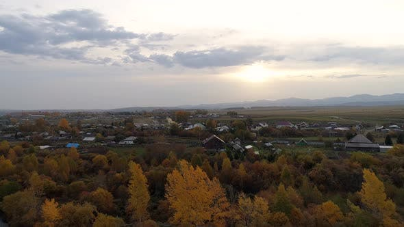 Thumbnail for Yellow Village at Sunrise