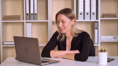 Entrepreneur Has Online Meeting
