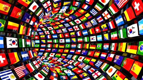 Flags Tunnel