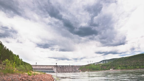 Thumbnail for Hydroelectric Station on the River