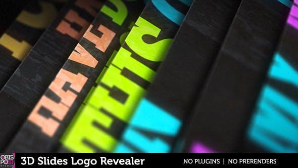 Thumbnail for 3D Slides Logo Revealer