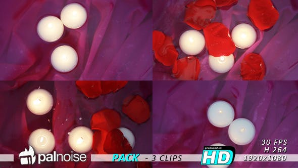 Thumbnail for Romantic Candles (3-Pack)