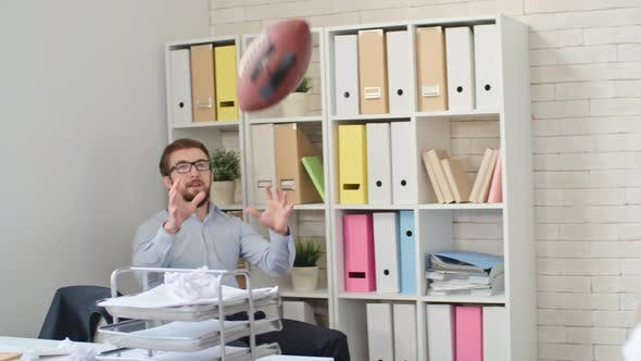Thumbnail for Playing Football at Workplace
