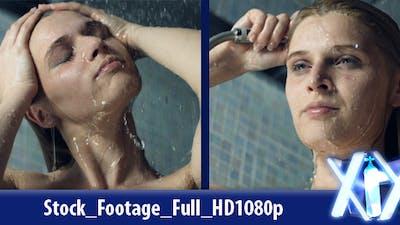 Female In Shower