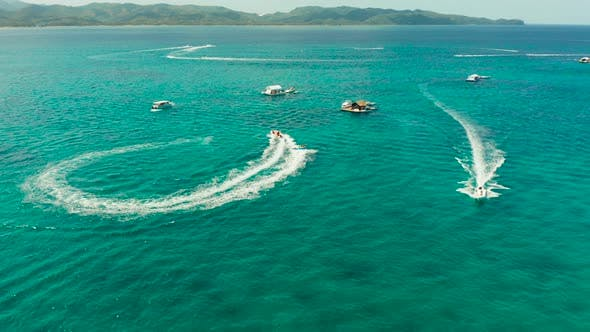 Thumbnail for Sea Attraction on the Beach resort.Boracay Island Philippines.