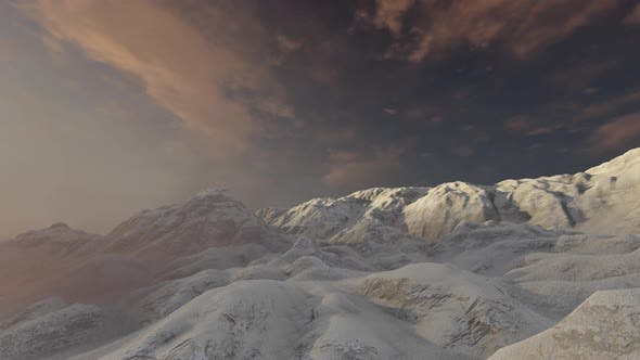 Thumbnail for Snowy Mountain Timelapse Clouds