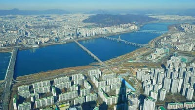 Time lapse of Seoul city in South Korea
