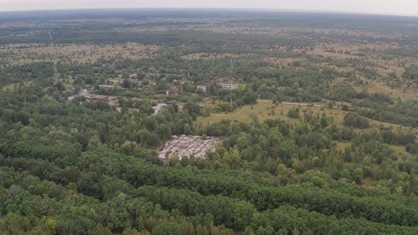 Thumbnail for Drone Flight Over Radioactive Zone Near Chernobyl