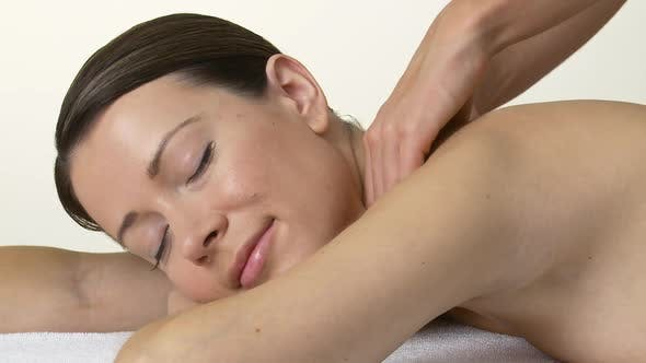 Cover Image for Woman having a massage