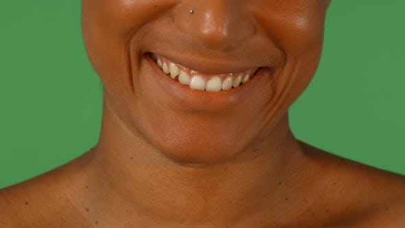 Cover Image for Studio Portrait of a Beautiful Smile of African Woman