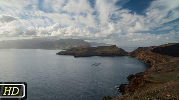 Panoramic View from Sao Lorenco, Madeira