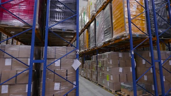 Thumbnail for Large Warehouse of a Manufacturing Enterprise