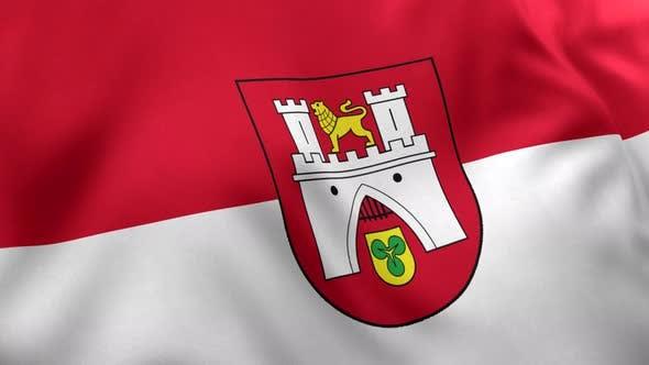 Hanover City Flag (Germany) - 4K