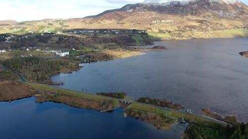 The Bridge Between Money Beg and Glenthornan Between Dunlewey Lough and Lough Nacung Upper at the