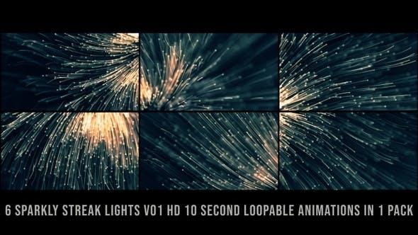 Sparkly Streak Lights V01