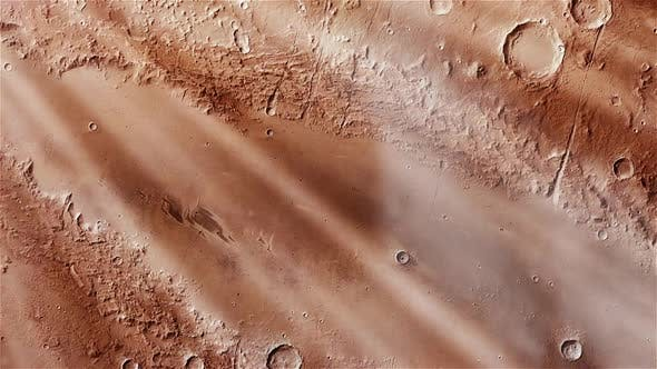 Thumbnail for Weird Crater on Mars from Space.