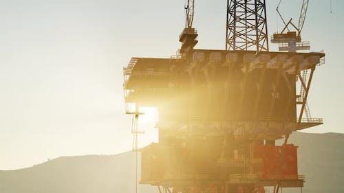 Oil Drill Rig Platform